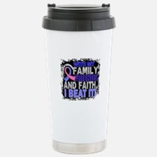 Male Breast Cancer Surv Stainless Steel Travel Mug