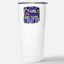 Male Breast Cancer Surv Travel Mug