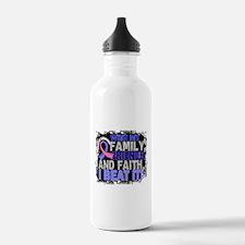 Male Breast Cancer Sur Water Bottle