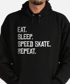 Eat Sleep Speed Skate Repeat Hoodie
