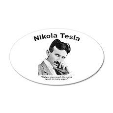 Tesla: Nature Wall Decal