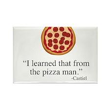Supernatural Castiel's Pizzaman Magnets