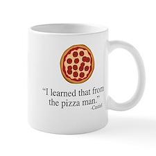 Supernatural Castiel's Pizzaman Mugs