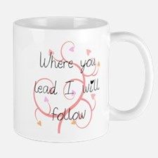 Gilmore Girls Where You Lead Mugs
