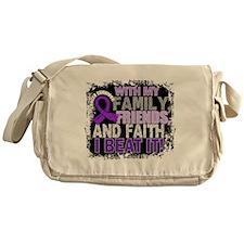 Leiomyosarcoma Survivor FamilyFriend Messenger Bag
