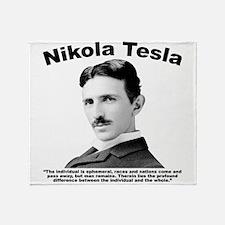 Tesla: Individual Throw Blanket