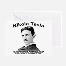 Tesla: Individual Greeting Card