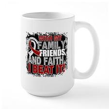 Head Neck Cancer Survivor FamilyFriends Mug