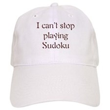 Can't Stop Playing Sudoku Baseball Cap