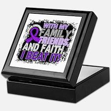GIST Survivor FamilyFriendsFaith Keepsake Box