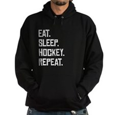 Eat Sleep Hockey Repeat Hoodie