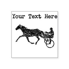 Distressed Harness Racing (Custom) Sticker