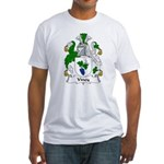 Viney Family Crest Fitted T-Shirt