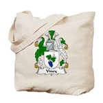Viney Family Crest Tote Bag