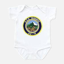 USS Yosemite (AD 19) Infant Bodysuit