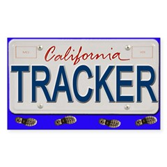 License Plate Rectangle Decal