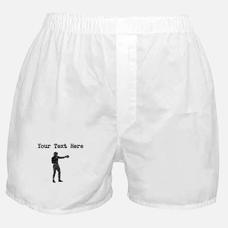 Distressed Boxer Silhouette (Custom) Boxer Shorts