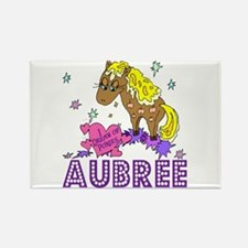 I Dream Of Ponies Aubree Rectangle Magnet