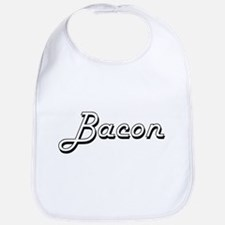 Bacon surname classic design Bib