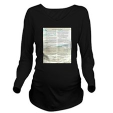 A World With CRPS Gl Long Sleeve Maternity T-Shirt