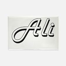 Ali surname classic design Magnets
