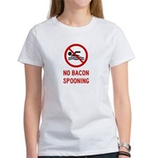 No Bacon Spooning Allowed T-Shirt