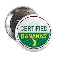CERTIFIED BANANAS Button