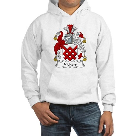 Vickers Family Crest Hooded Sweatshirt