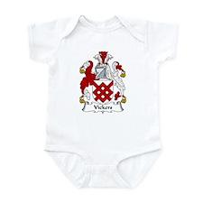 Vickers Family Crest Infant Bodysuit