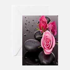 Rose&Rocks Greeting Cards