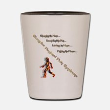 CRPS- Living Fighting the flame Shot Glass