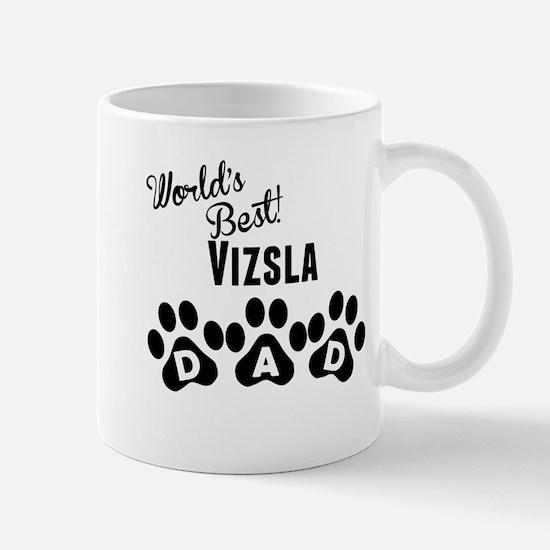Worlds Best Vizsla Dad Mugs