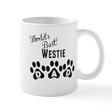 Worlds Best Westie Dad Mugs