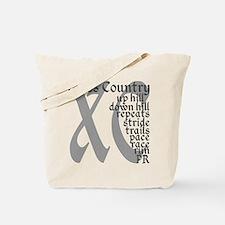 Cross Country XC grey gray Tote Bag