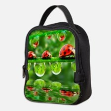 Cute Bug Neoprene Lunch Bag
