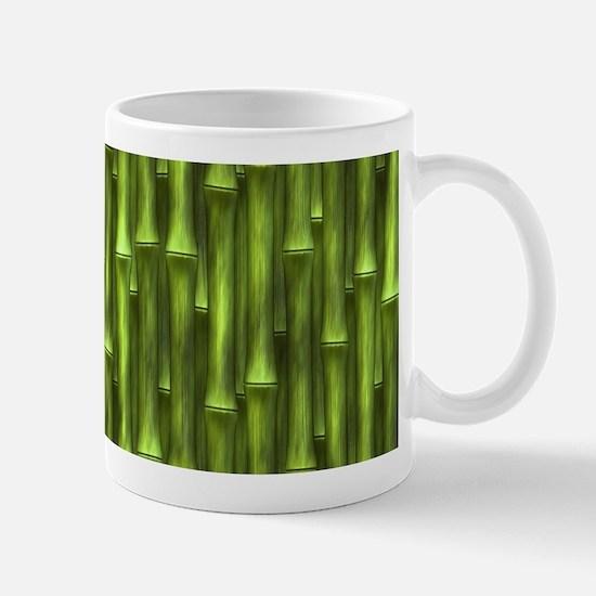 Green Bamboo Forest Mugs