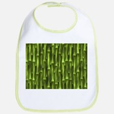Green Bamboo Forest Bib