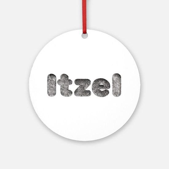 Itzel Wolf Round Ornament