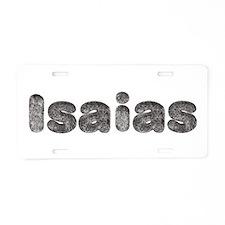 Isaias Wolf Aluminum License Plate