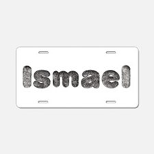 Ismael Wolf Aluminum License Plate