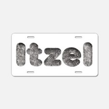 Itzel Wolf Aluminum License Plate