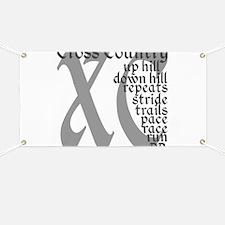 Cross Country XC grey gray Banner