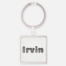 Irvin Wolf Square Keychain