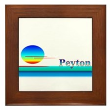 Peyton Framed Tile