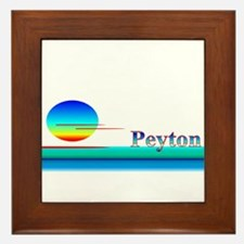 Peyton Framed Tile