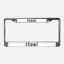 Itzel Wolf License Plate Frame