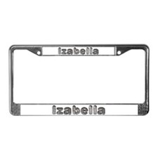 Izabella Wolf License Plate Frame