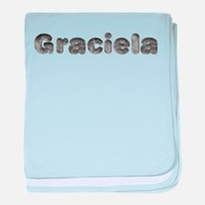 Graciela Wolf baby blanket