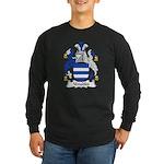 Venables Family Crest Long Sleeve Dark T-Shirt