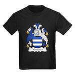 Venables Family Crest Kids Dark T-Shirt